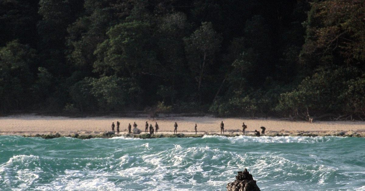 Andaman: Police team retreats after seeing men armed with bows and arrows on North Sentinel Island