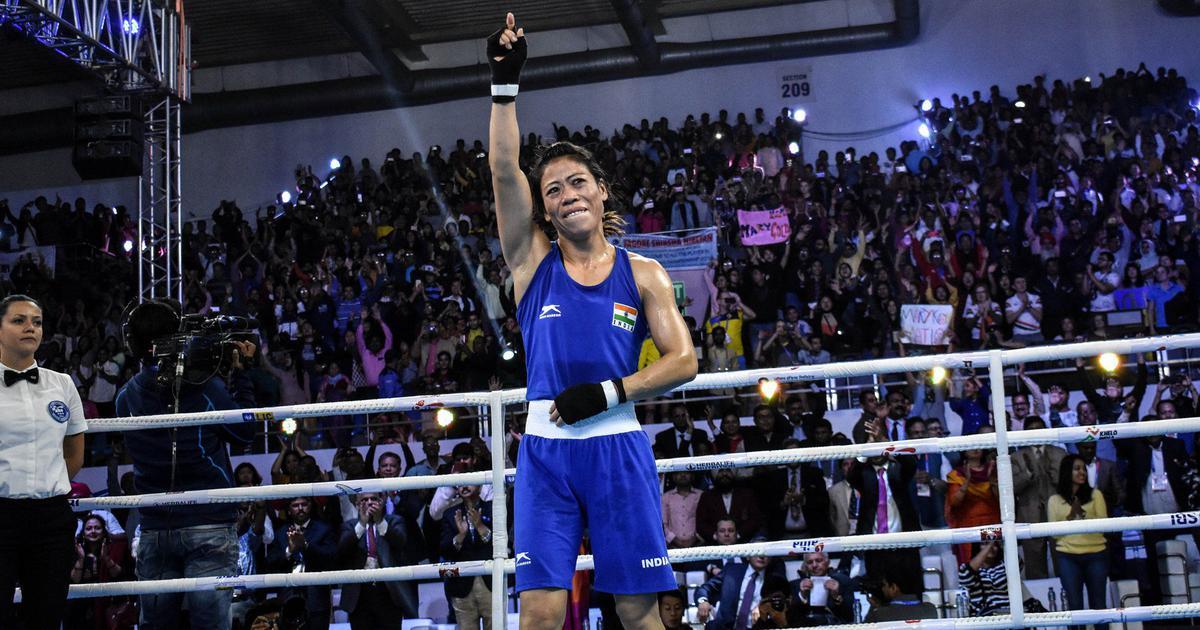 मैरी कॉम छह बार विश्व चैंपियनशिप जीतने वाली दुनिया की पहली महिला मुक्केबाज बनीं