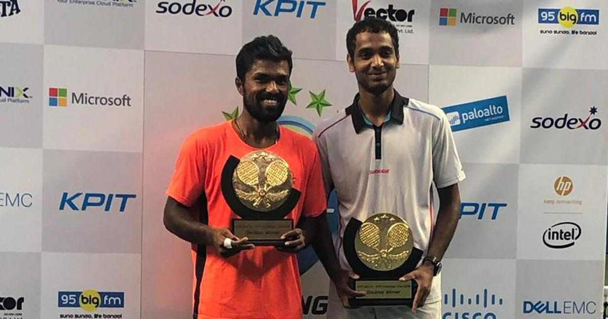 Pune Challenger tennis: Ramkumar and Vijay pip Yang and Hsieh to win doubles title