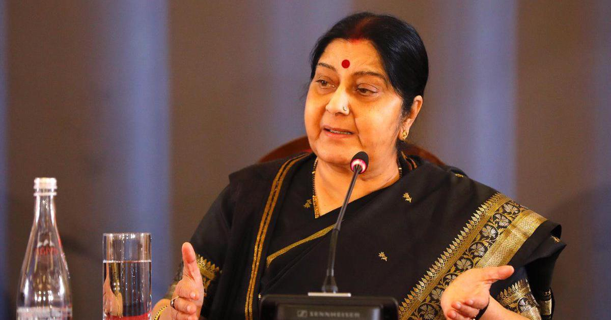 Union minister Sushma Swaraj seeks report on alleged abduction of two Hindu girls in Pakistan