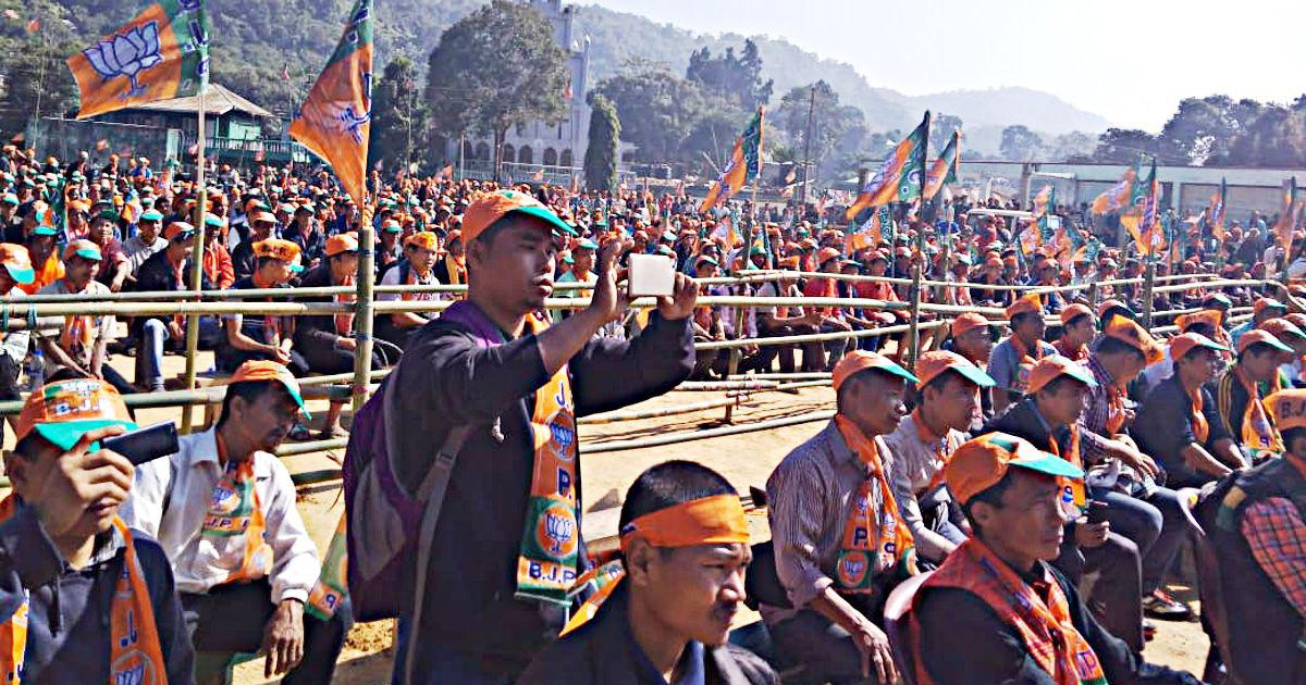 In Mizoram, the BJP depends on the Chakmas to make its debut in the state assembly