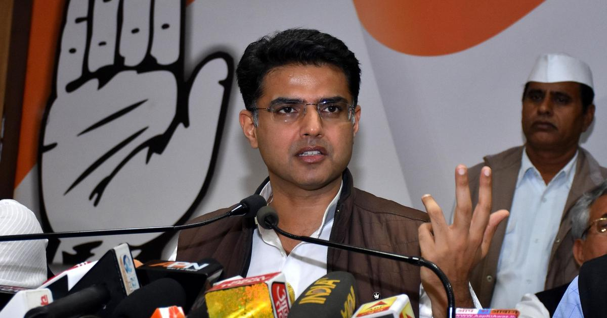 Sachin Pilot claims BJP's decision to allot 17 seats to JD(U) in Bihar shows party's insecurity