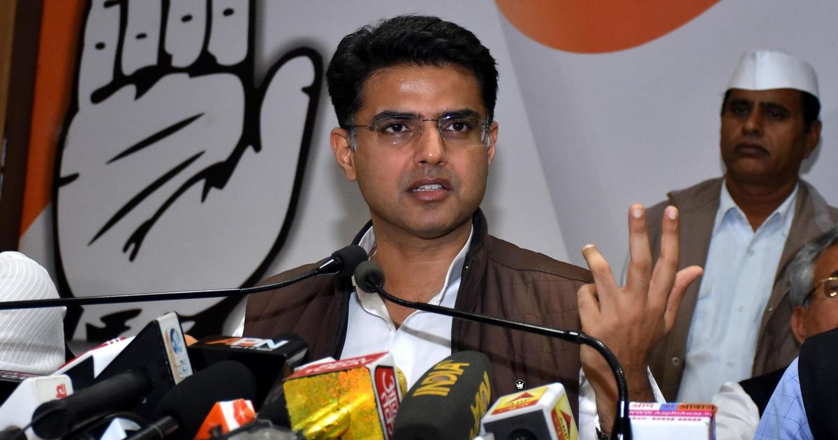 Rajasthan political crisis: Sachin Pilot removed as deputy chief minister, state unit chief