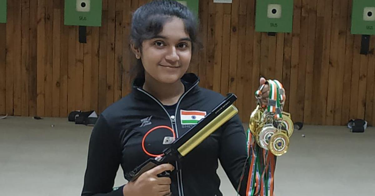 Shooting Nationals: Teenager Esha Singh pips Manu Bhaker to clinch triple crown