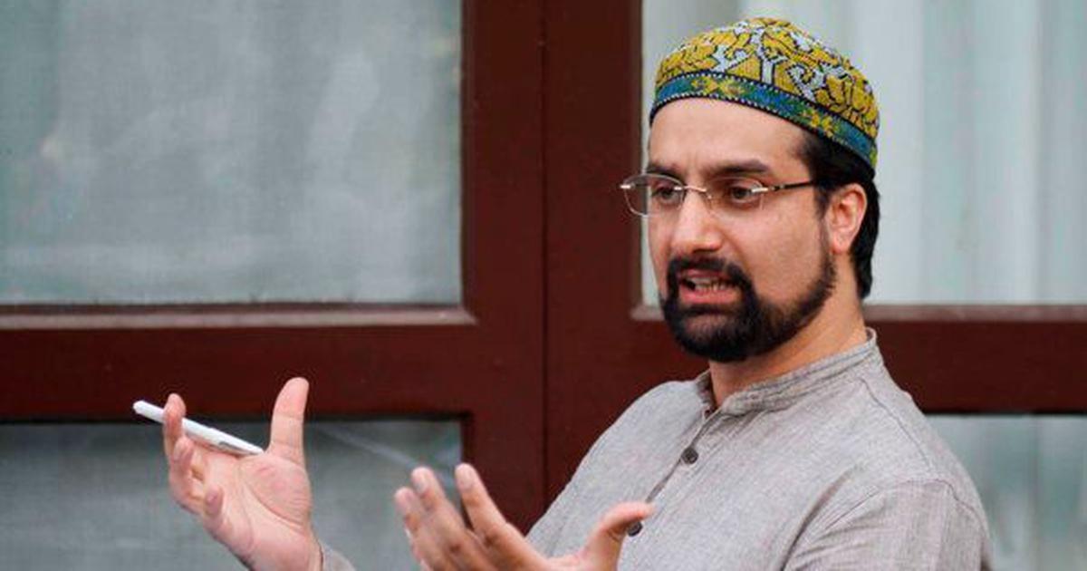 Separatist leader Mirwaiz Umar Farooq appears before NIA for questioning in terror financing case