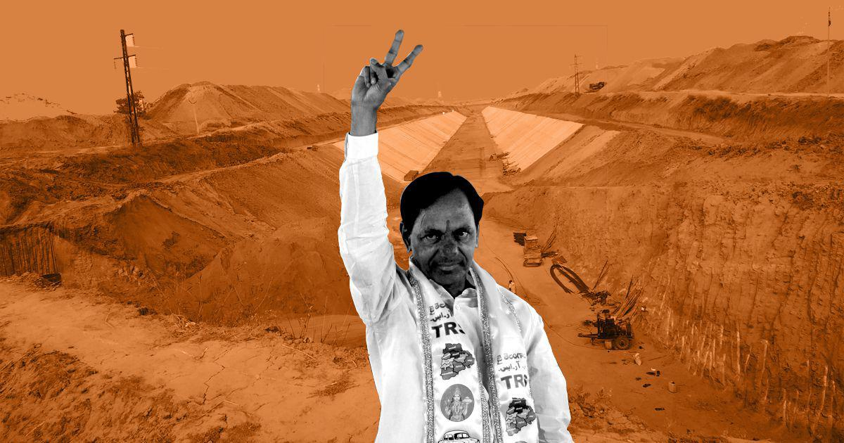Have Andhra companies cornered contracts in Telangana's largest irrigation project?