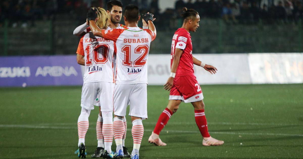 I-League: Neroca jump to fifth in the table after 2-1 win over Shillong Lajong