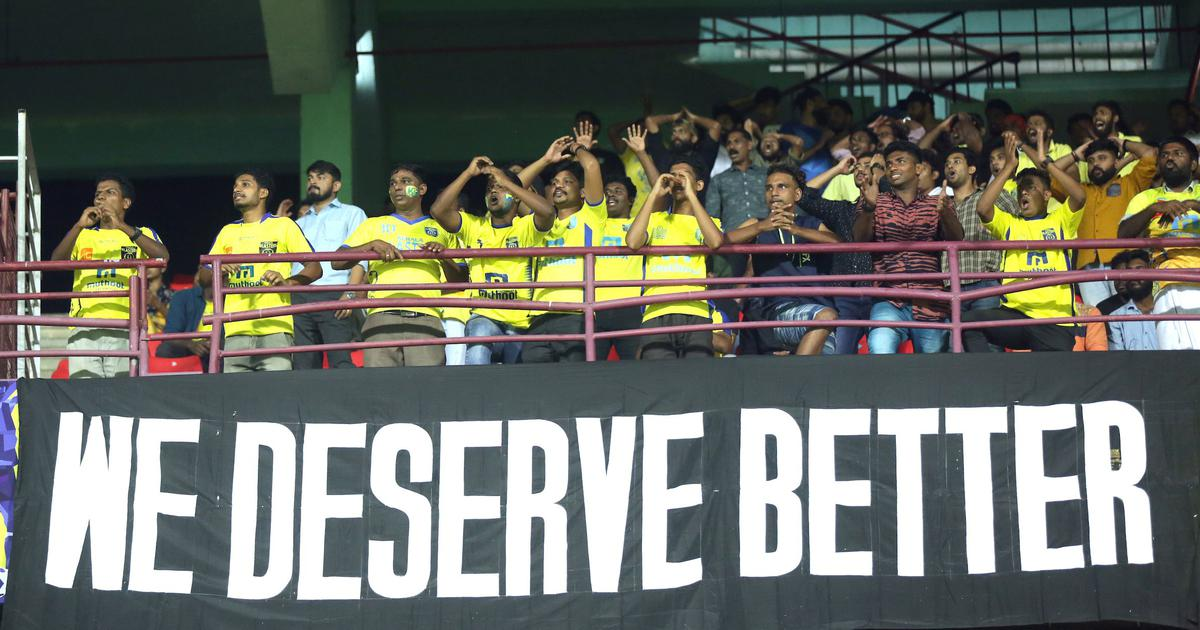 Indian Super League: Kerala Blasters record their lowest attendance ever against Jamshedpur FC