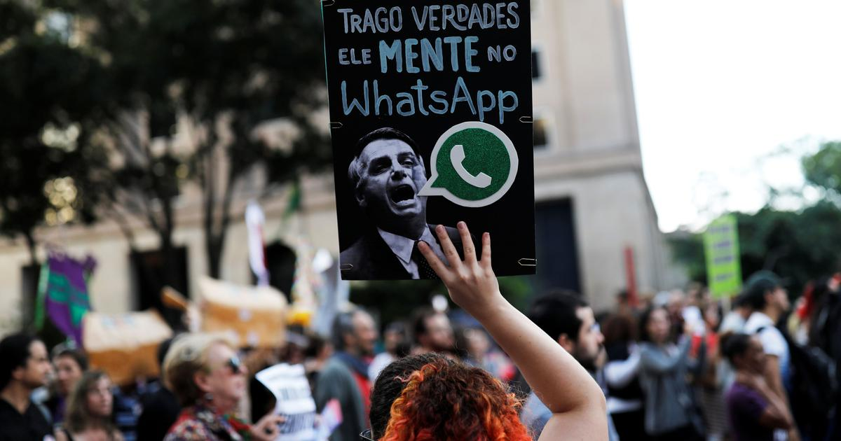Social media continues to influence elections – this time it's WhatsApp in Brazil