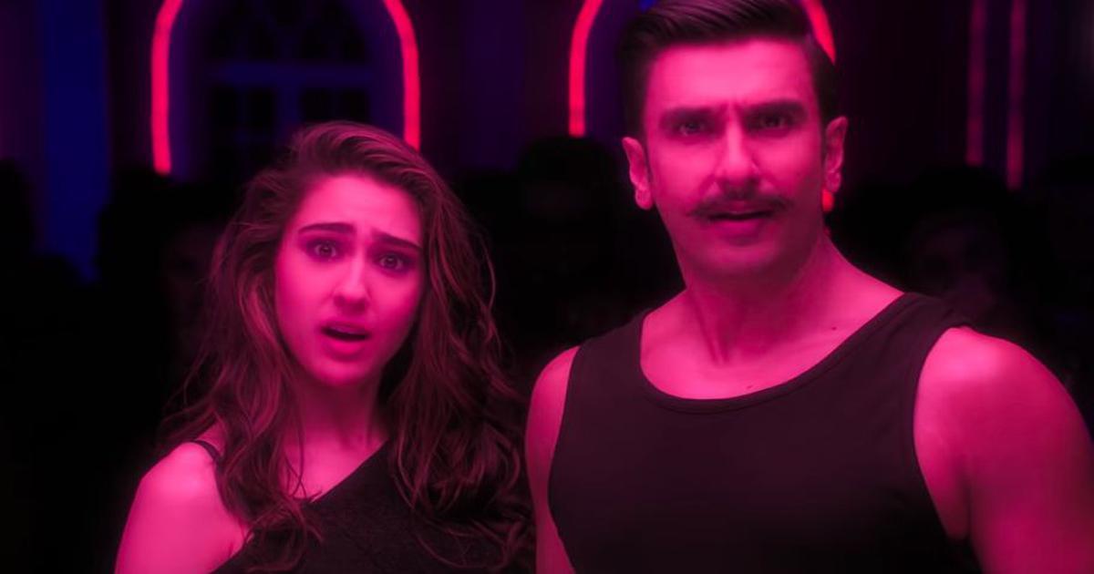 Watch: Ranveer Singh and Sara Ali Khan recreate 'Aankh Maarey' in 'Simmba'