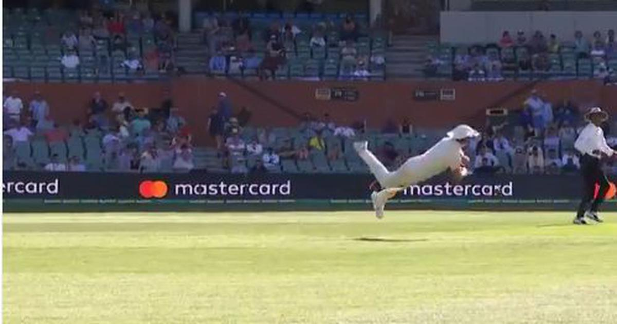 Watch: The only way Pujara was going to get out in Adelaide was via this spectacular Cummins throw