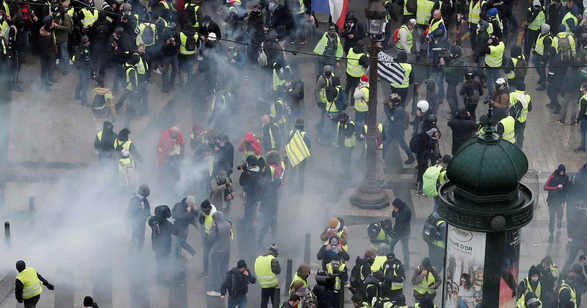 France: Over 500 arrested in Paris as police try to prevent a repeat of last weekend's riots
