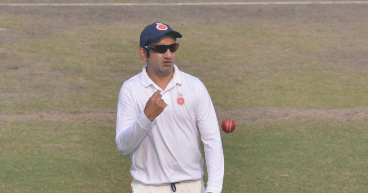 Ranji Trophy: Gautam Gambhir's farewell game ends in a draw, Tamil Nadu win first match of season