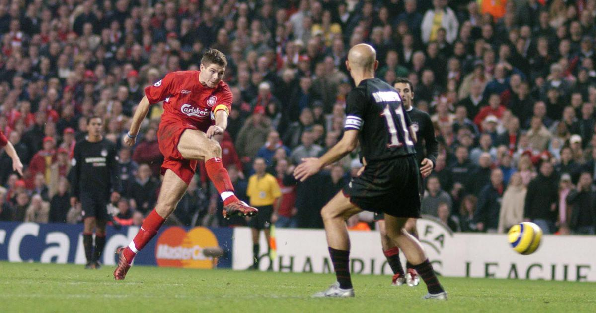 Pause, rewind, play: Revisiting Liverpool legend Steven Gerrard's career through his stunning goals