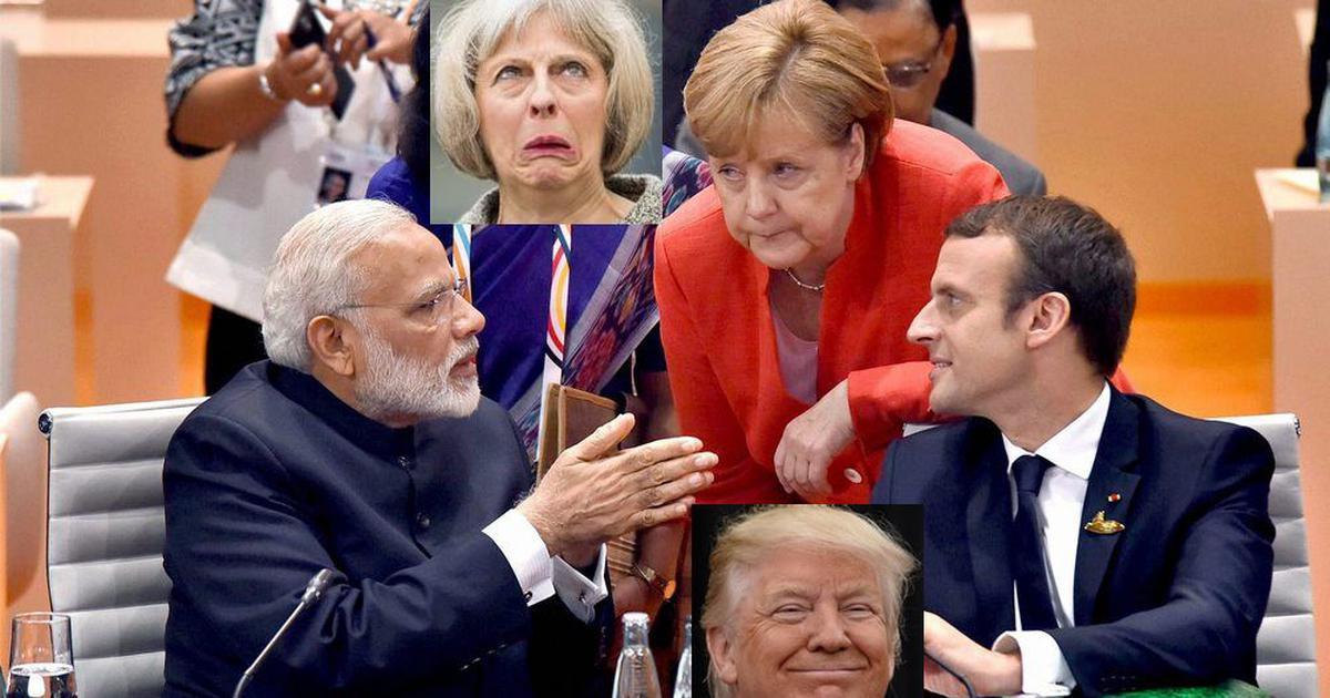 What is common to Narendra Modi, Angela Merkel, Donald Trump, Theresa May, Emmanuel Macron?