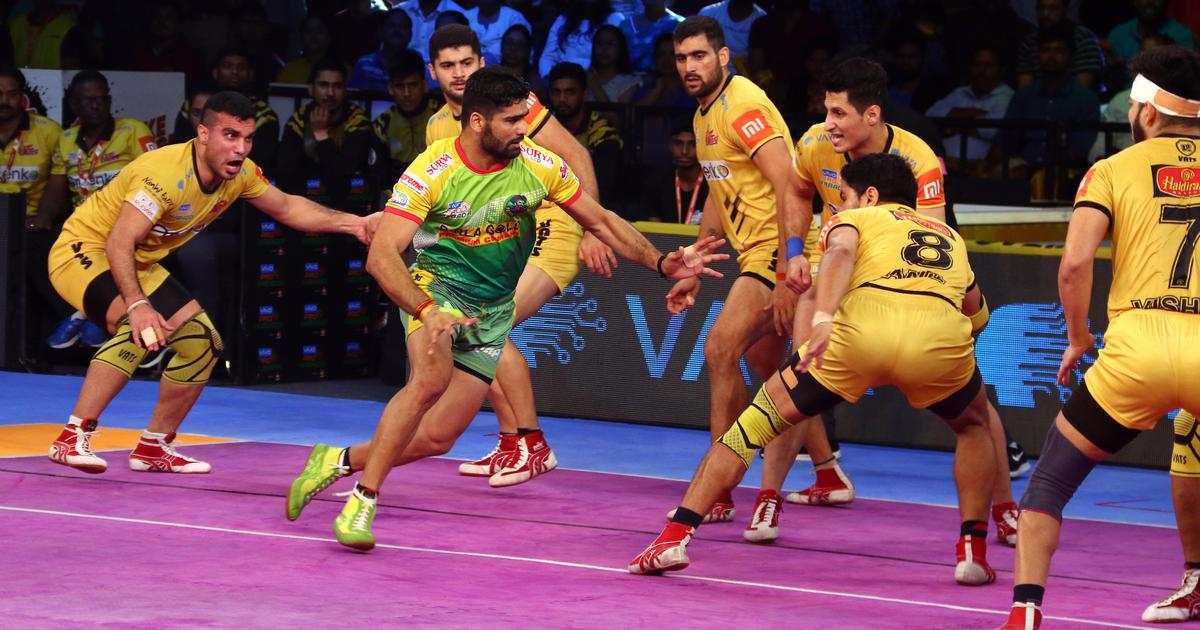 Pro Kabaddi: Telugu Titans defeat holders Patna Pirates 41-36 in final home game