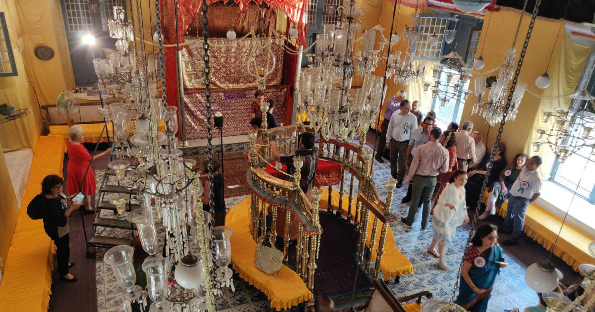 Mattancherry's Paradesi Jews came together to mark the 450th anniversary of their beloved synagogue