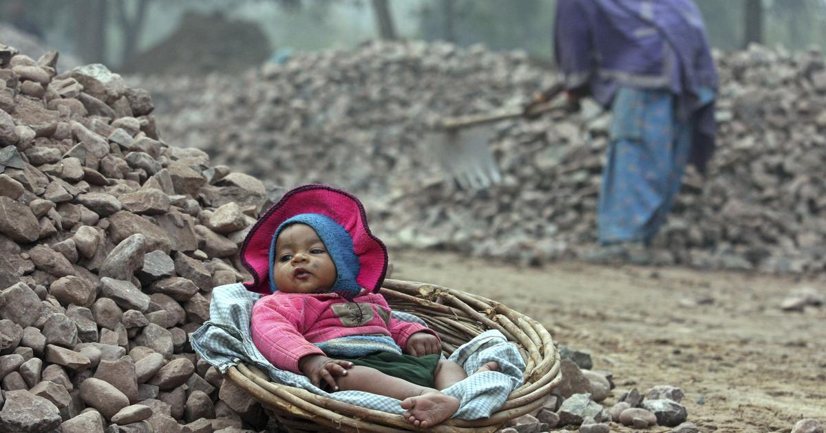 How labour conditions at construction sites are leading to higher rates of child malnutrition