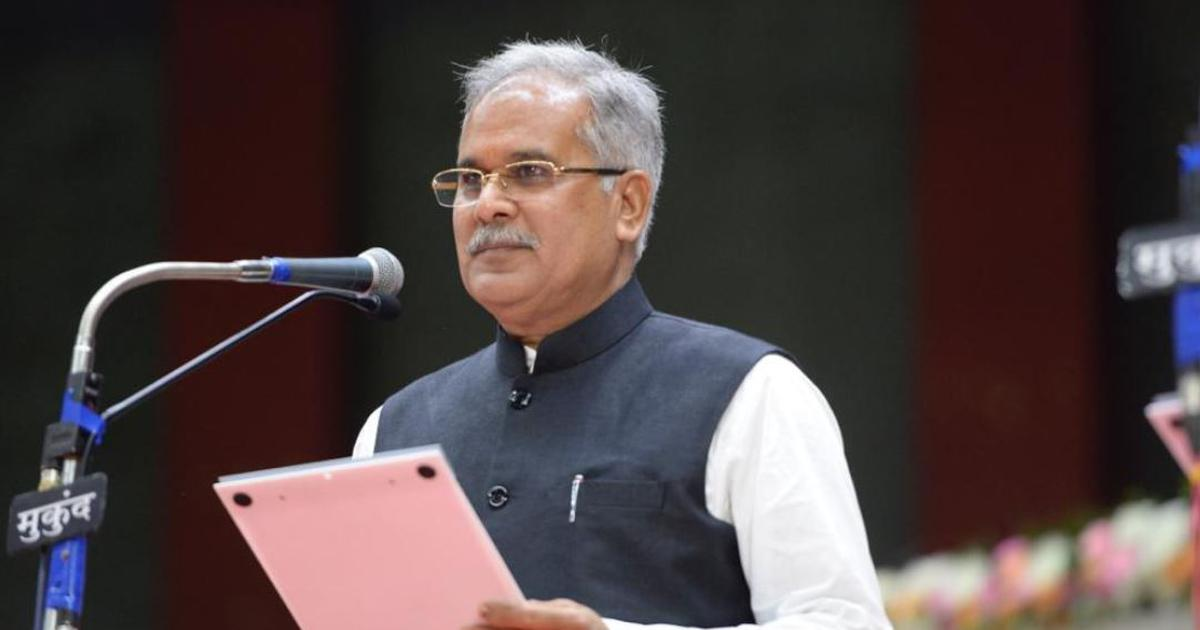 Chhattisgarh: Bhupesh Baghel sworn in as chief minister, waives loans of over 16 lakh farmers