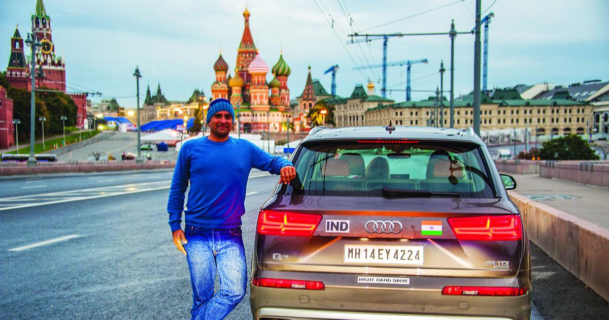 Germany to Mumbai: This book documents a 20,000-km long road trip (with an Indian passport)