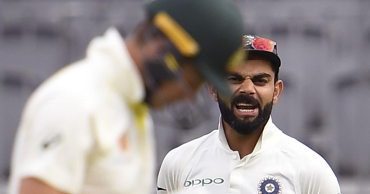 'I thought both players handled it well': Hussey on Kohli-Paine verbal exchange