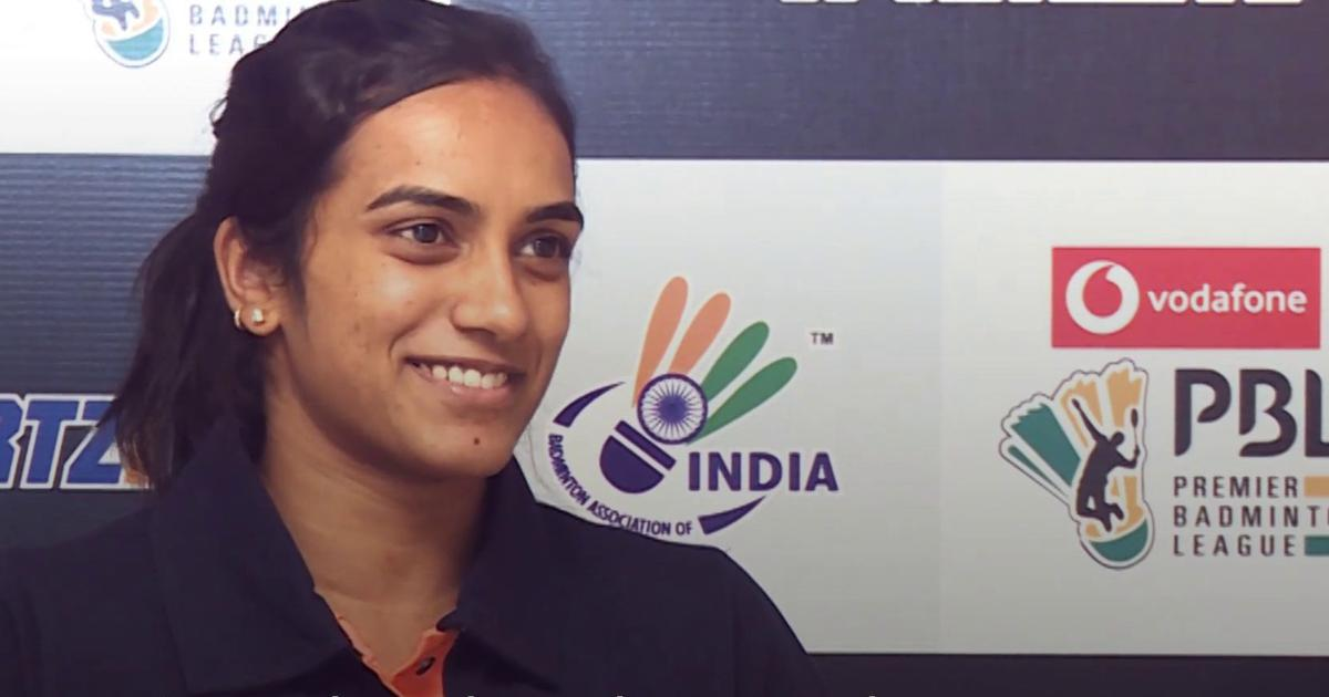Interview with PV Sindhu: 'Never had second thoughts other than badminton'