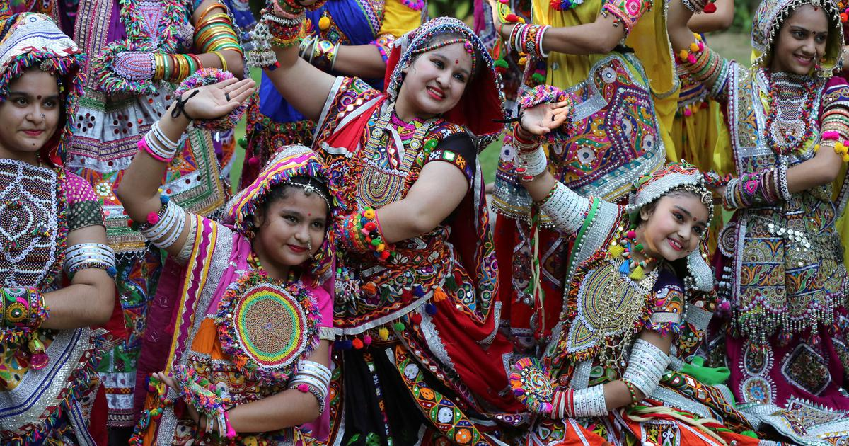 In Gujarat, garba is as much a part of Christmas celebrations as it is of Navratri