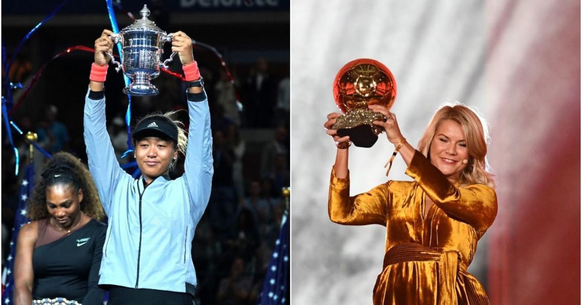 Best of women's sport in 2018: Osaka's breakthrough win over Serena, Hegerberg's Ballon d'Or