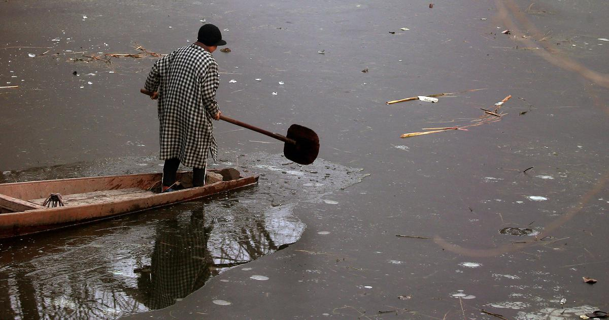 Jammu And Kashmir Srinagar Records Coldest December Night In 28 Years Met Forecasts Cold Wave