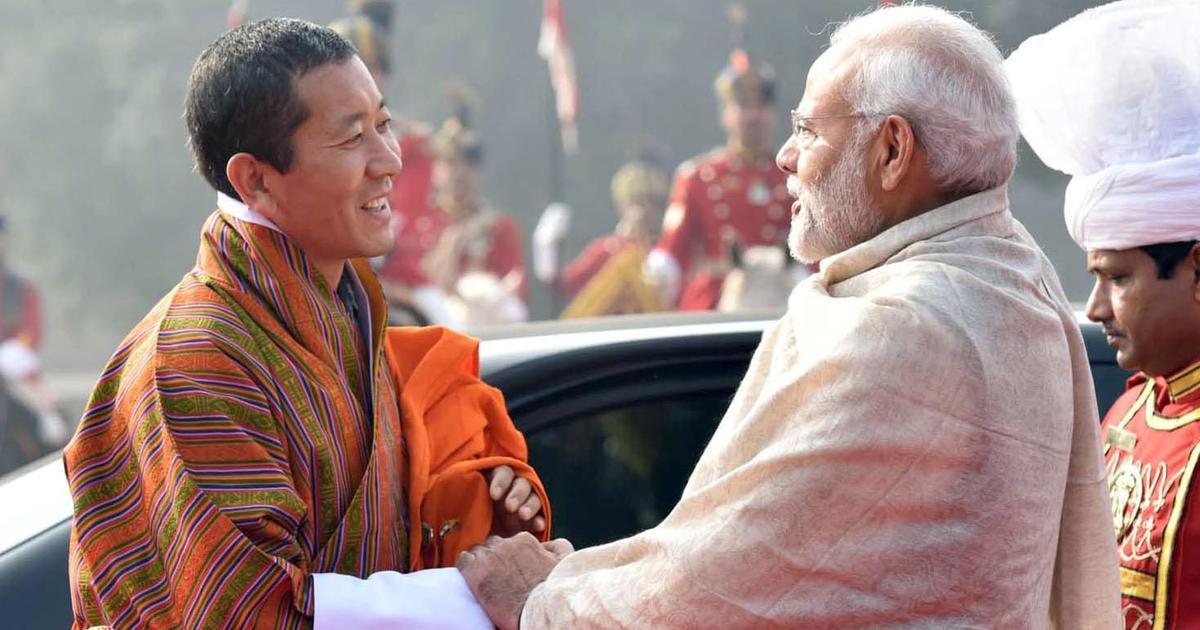 PM Modi announces Rs 4,500 crore financial assistance for Bhutan's five-year plan