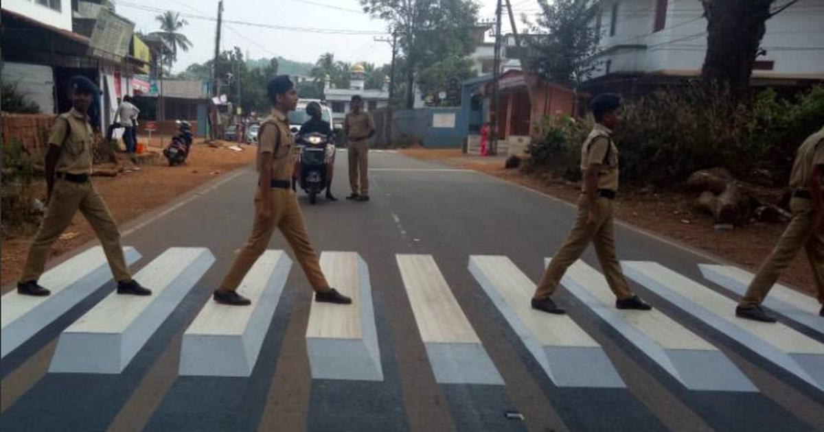 Kerala: Police in Kannur recreate Beatles' 'Abbey Road' cover to promote road safety