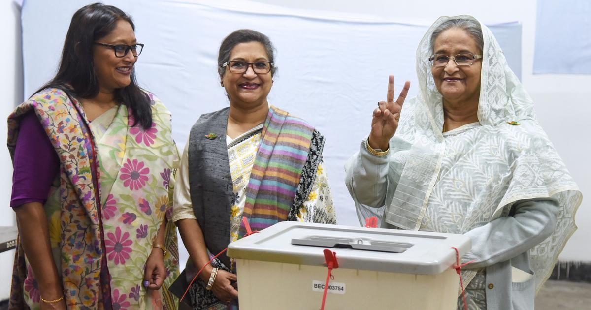 Bangladesh elections: Sheikh Hasina's Awami League set for landslide victory