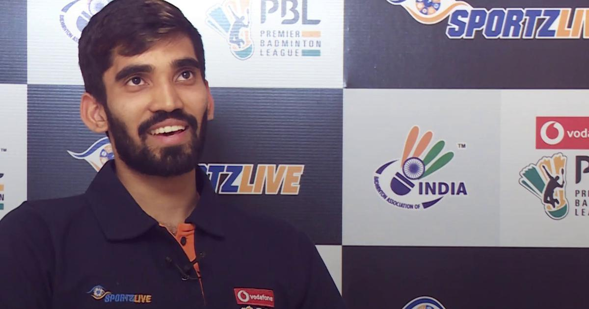 Interview with K Srikanth: 'I am a badminton player now because I was very bad at studies'
