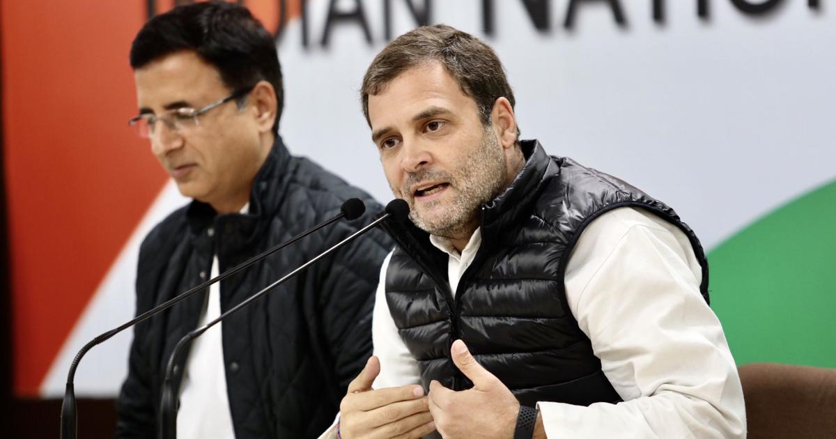राहुल गांधी कांग्रेस के अध्यक्ष थे, हैं और भविष्य में भी रहेंगे : रणदीप सिंह सुरजेवाला