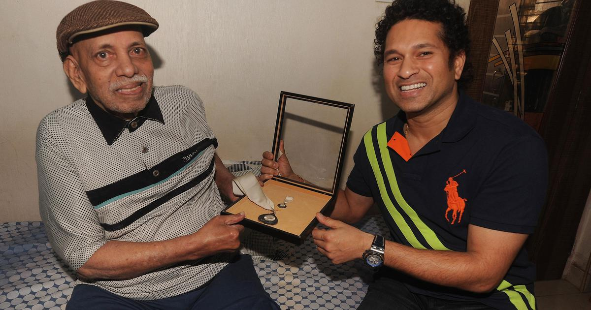 Ramakant Achrekar's contribution to cricket is much more than just being Sachin Tendulkar's coach