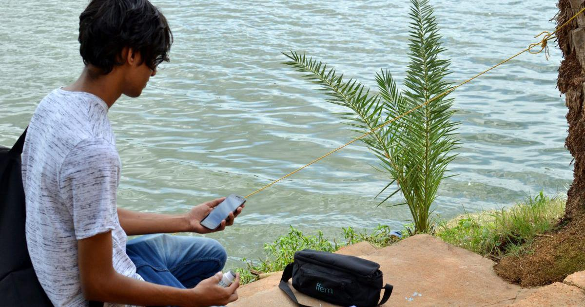 A new tech allows citizens to test water quality without expert help. Can it save Bengaluru's lakes?