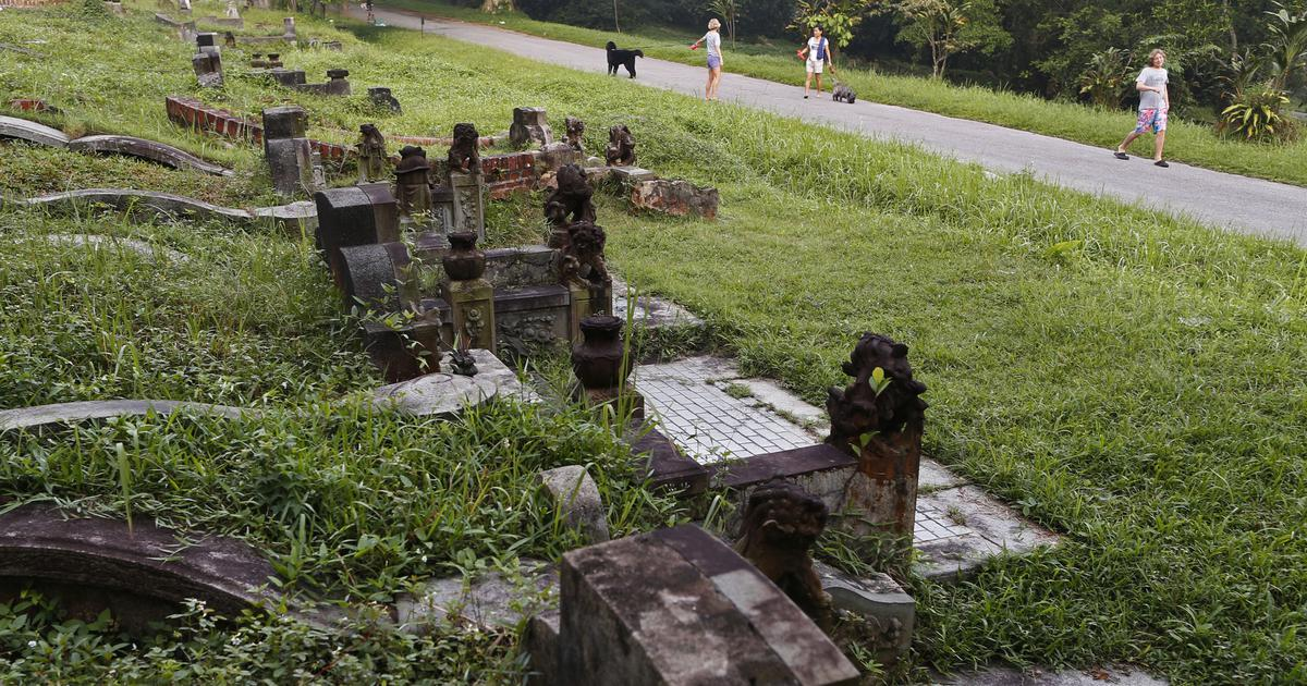 Singapore's plan to dig up a historic cemetery for a highway has angered citizens
