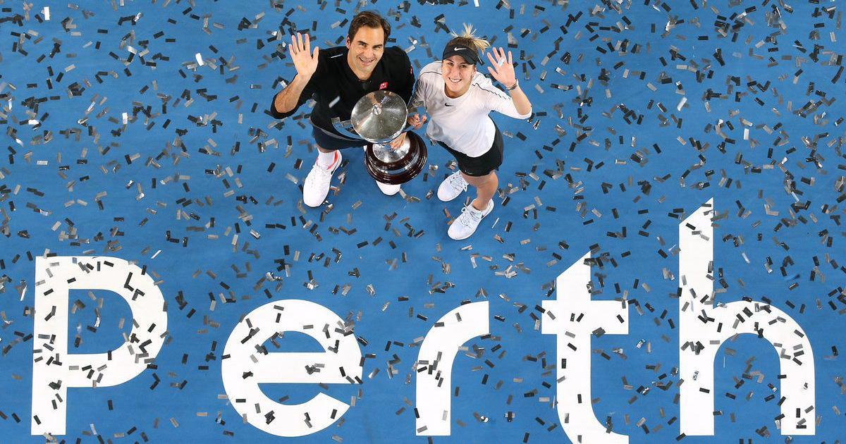 26c1ee4b3bd Federer clinches record third Hopman Cup title after Switzerland s dramatic  win over Germany