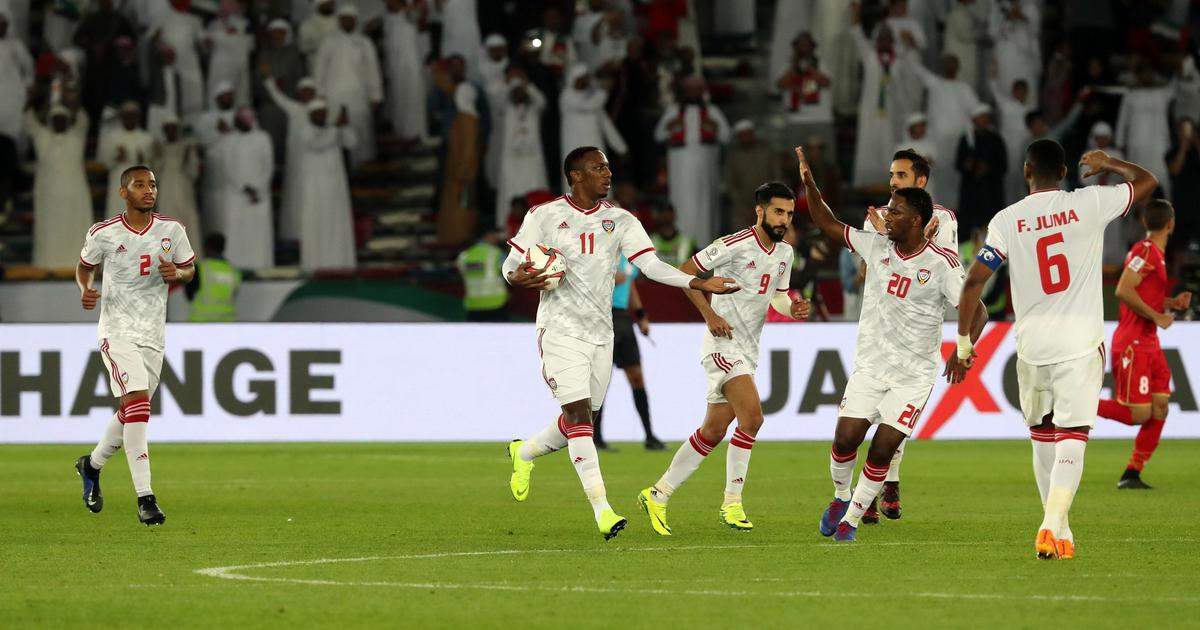 AFC Asian Cup: Controversial penalty helps hosts UAE salvage a point against Bahrain