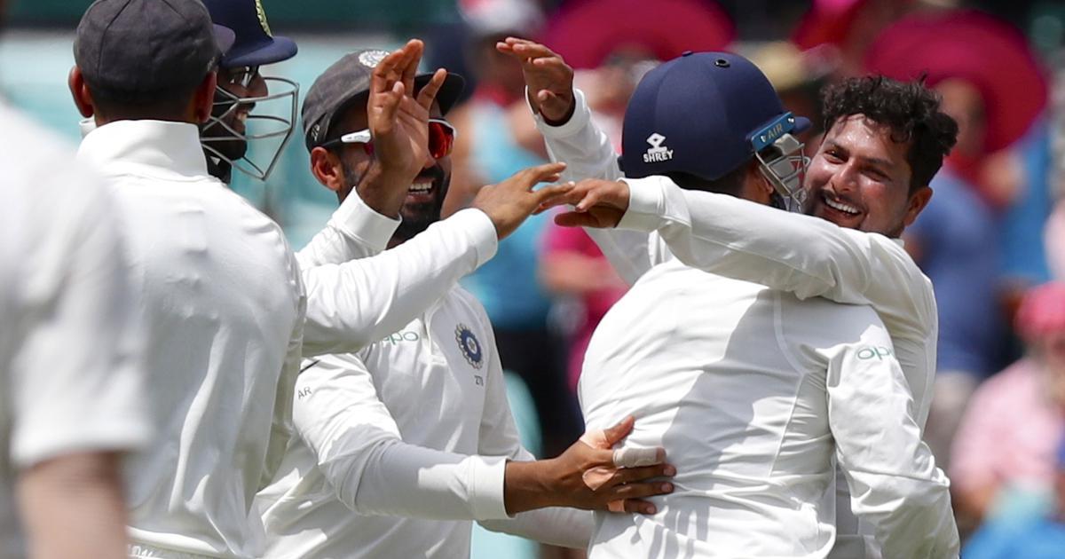 Pressure on Ashwin? Twitter reacts to Kuldeep Yadav's impressive five-wicket haul in Sydney Test