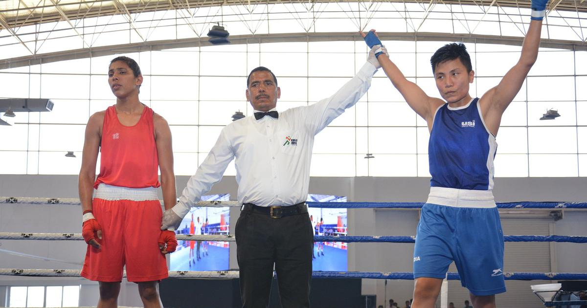 Women's National Boxing: Meenakumari, Lovlina win gold medals, Manisha loses in final