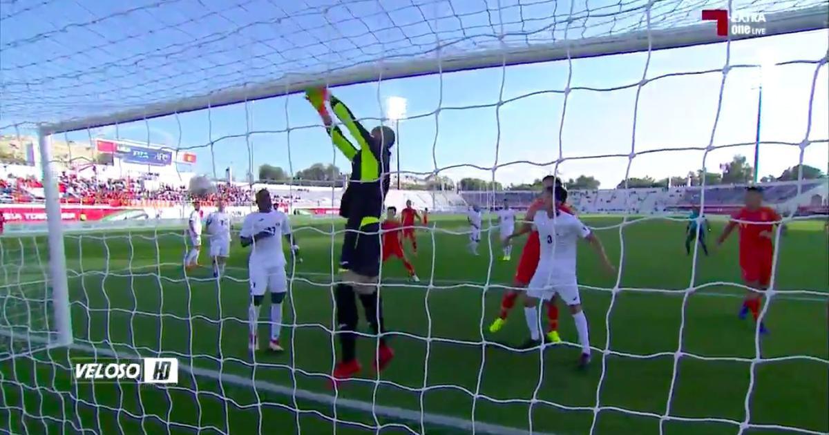 Watch: Kyrgyzstan goalkeeper Pavel Matiash's howler saves China the blushes at Asian Cup