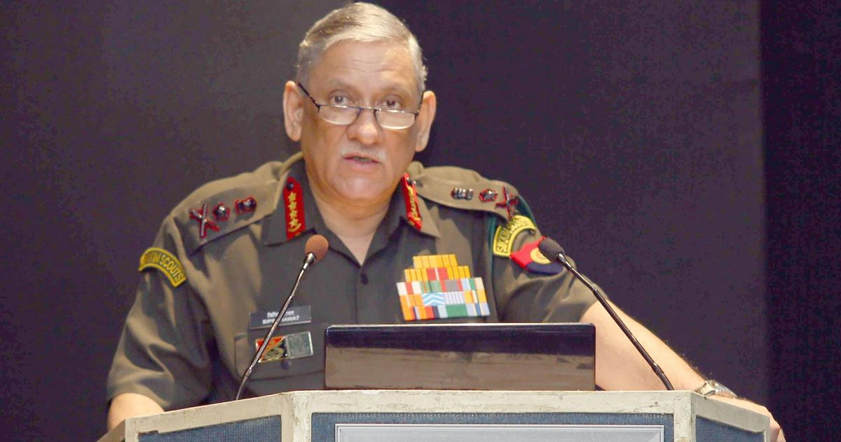 India will fight and win next war using indigenous weapons, says Army chief Bipin Rawat