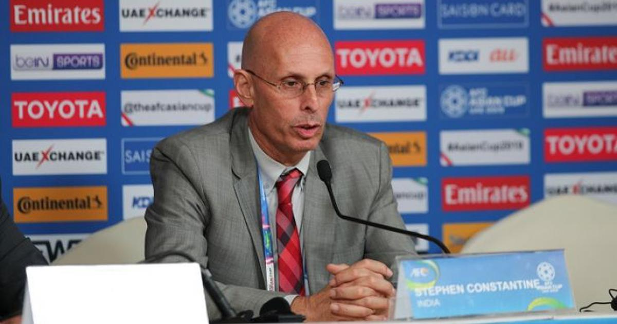 India didn't deserve to go out of Asian Cup, says outgoing football coach Stephen Constantine