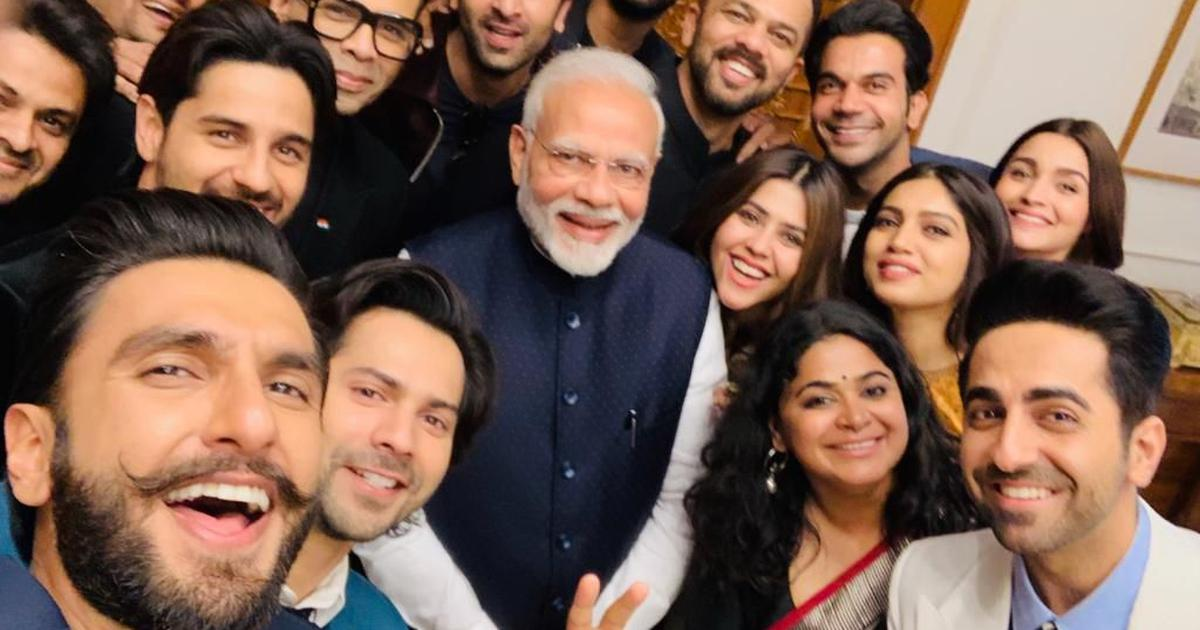 Bollywood delegation meets Narendra Modi, discusses nation-building