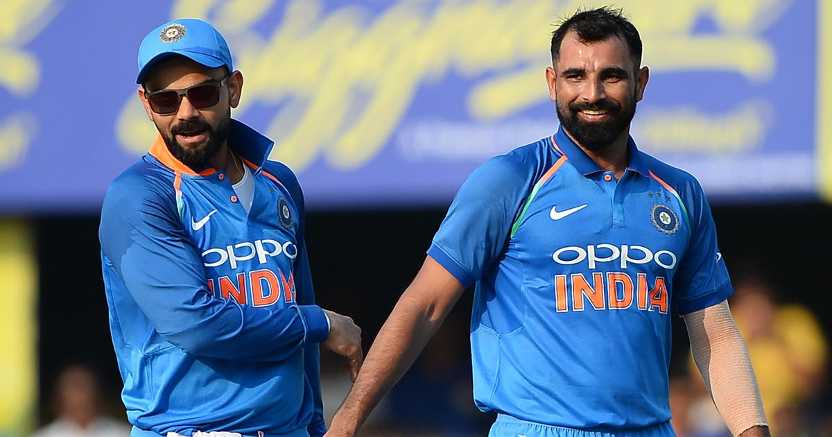 ODIs before World Cup a chance for pacers Shami, Khaleel and Co to present their case, says Kohli