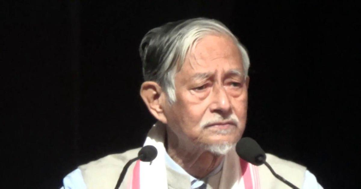 Meet Hiren Gohain: Once the fiercest critic of Assamese chauvinism, now facing charges of sedition