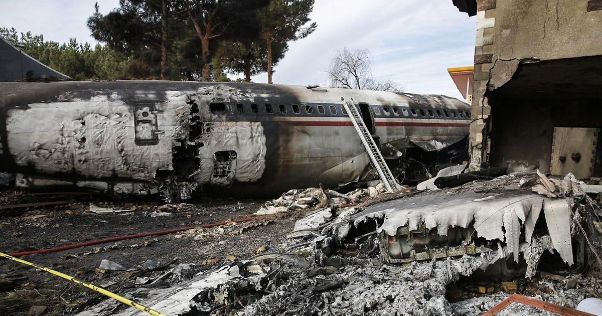 Iran: At least 15 dead as cargo plane crashes while landing outside Tehran