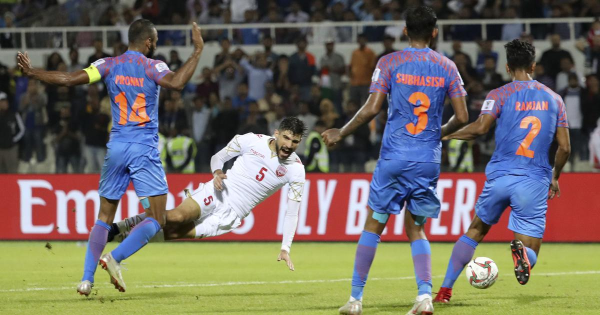 Fifa rankings: India slide down six spots to 103rd after first-round AFC Asian Cup exit