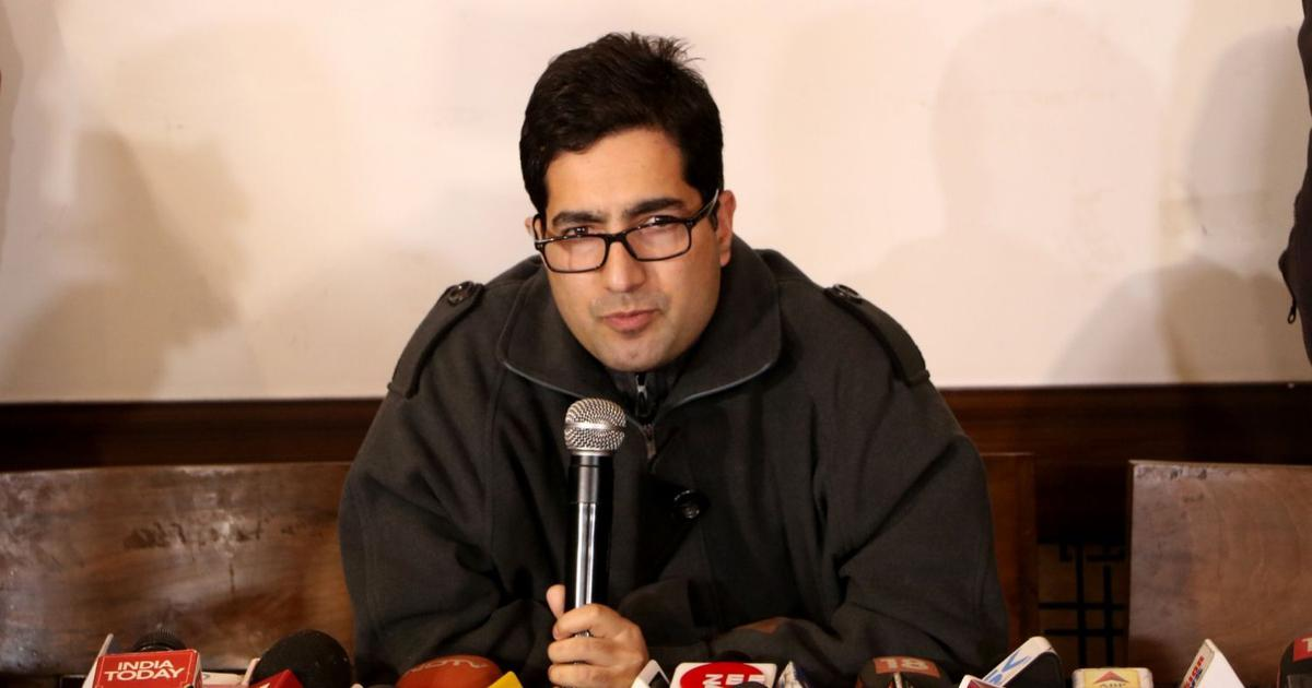 'Unprecedented horror in Kashmir', says former IAS officer Shah Faesal